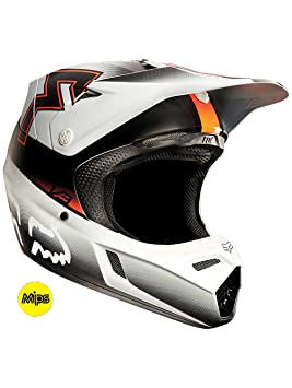 Fox Casco V3 Francise - Naranja, M