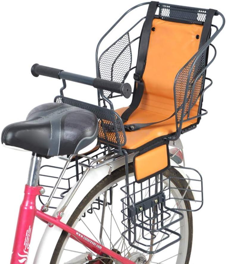 YXZN Niños Asientos de Seguridad para Bicicletas Niños posteriores ...