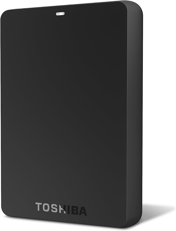 Toshiba 2TB Canvio Basics USB 3.0 Portable Hard Drive (HDTB220XK3CA)