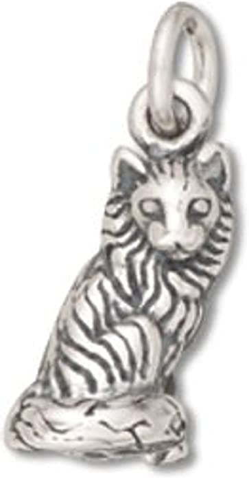 Sterling Silver 3D Small Basset Hound Tail Up Pet Dog Breed Dangle Charm Bead For Bead Bracelet