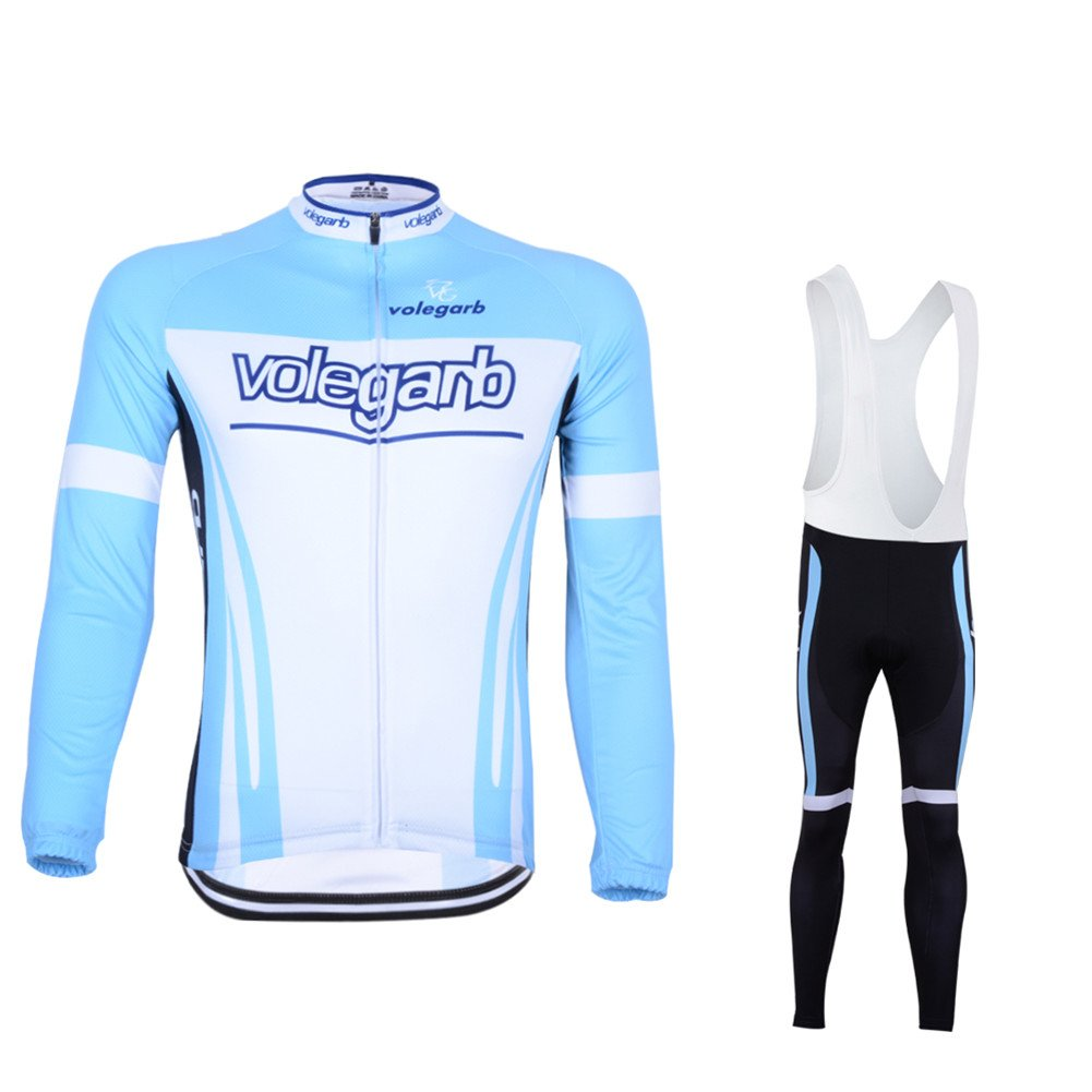6be58b38f Fastar Cycling Clothing Sets Long Sleeve Jersey and Pants for Men  Breathable Lightweight Bike Clothing Cycling Suits Riding Sportswear S M L  XL XXL XXXL