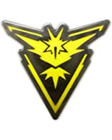 Pokemon Go Plus Pins by PokeSwag-Cool Red Blue Yellow Team Gym Badges-Articuno Moltres Zapdos-Metal Lapel Button-Enamel Fill Emblem-Pokemon Games Kanto Fans & Collectors-Accessories for Boys & Girls