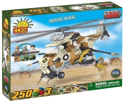 COBI Small Army Desert Hawk Helicopter Building Set by COBI