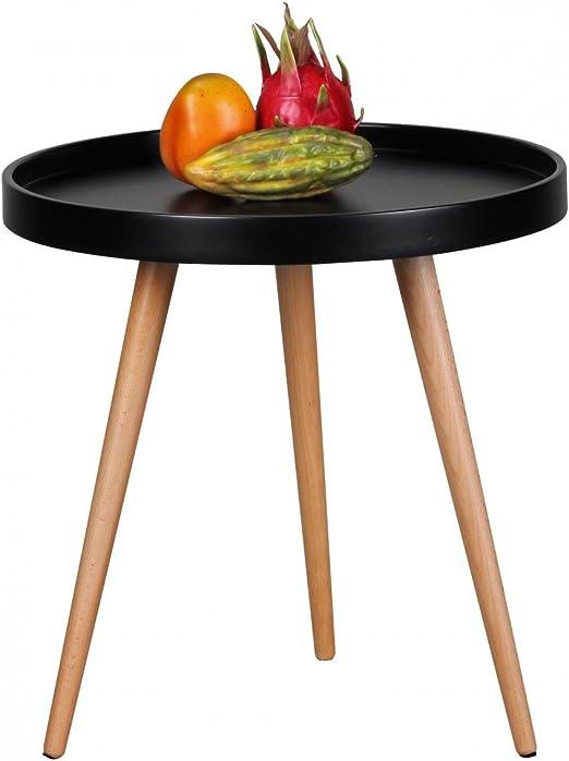 Design Couchtisch SKANDI Ø 50 cm x 50 cm Form Rund