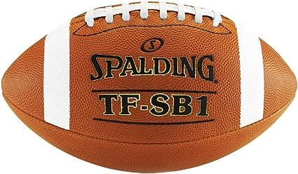 2 Spalding Footballs TF SB1 Spiral Balance Full Size Leather NFHS Approved