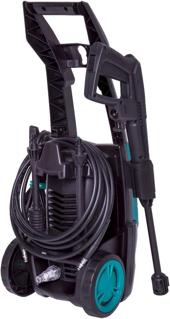 VONROC Hochdruckreiniger 1400 W 110 bar 5 m Schlauch Spr/ühaufs/ätze und Zubeh/ör 390 l//h Inkl