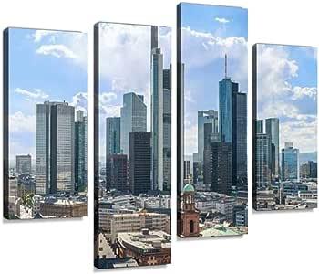 Amazon.com: Sudoiseau Wall Art Painting Frankfurt am Mine
