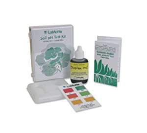 LaMotte 5024 Soil pH Test Kit, 4-8 pH Range