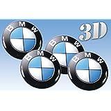 4 x 60mm bmw aufkleber emblem felgenaufkleber logo auto. Black Bedroom Furniture Sets. Home Design Ideas