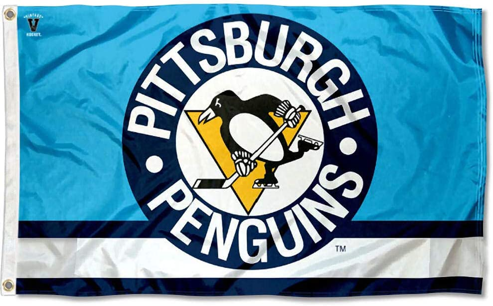 WinCraft Pittsburgh Penguins Applique and Embroidery Flag