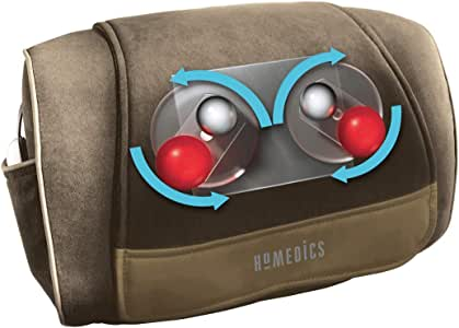 Homedics- Deluxe Shiatsu Cushion Massager For Shoulders, Back And Neck Muscles