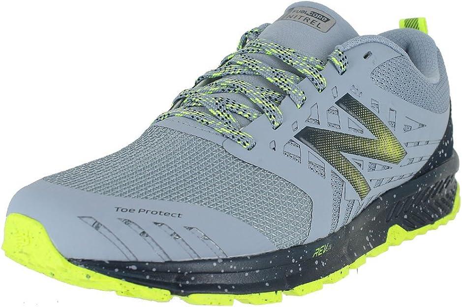 New Balance Fuel Core Nitrel, Zapatillas de Running para Asfalto para Hombre, Gris (Reflection/Galaxy/Hi-Lite Rr1), 43 EU: Amazon.es: Zapatos y complementos