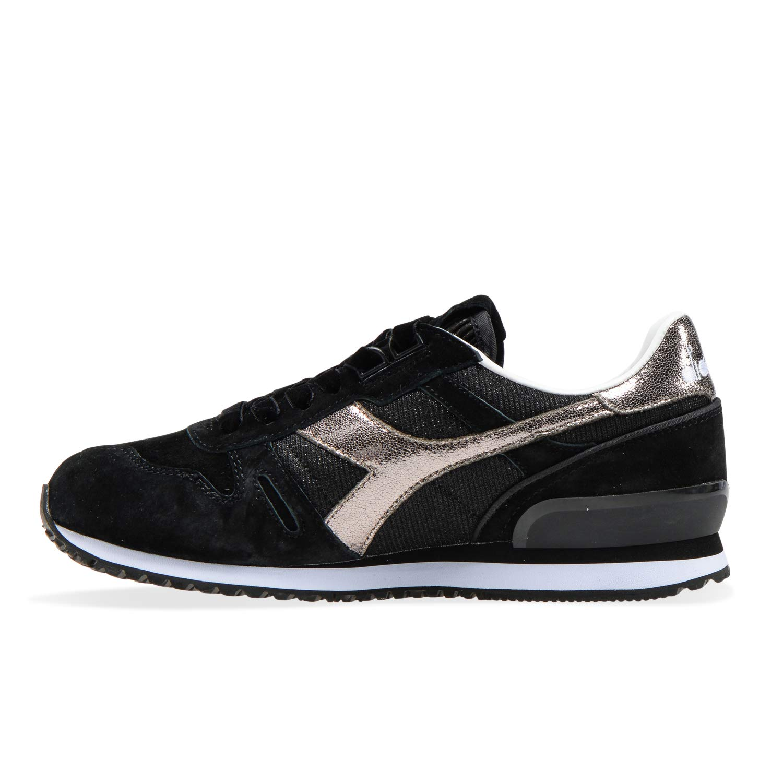 Diadora - Sneakers Sneakers Sneakers Titan WN Premium für Frau 80013 - Schwarz 068682