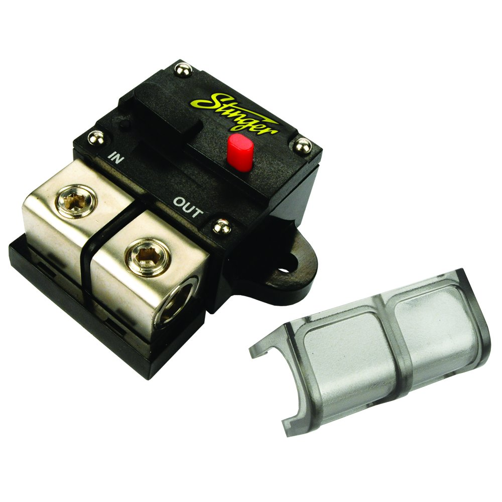 Amazon.com: Stinger SGP90801 80-AMP High Power Circuit Breaker: Home Audio  & Theater