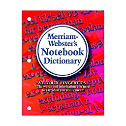 MERRIAM - WEBSTER INC. MERRIAM WEBSTER NOTEBOOK DICTIONARY (Set of 12)