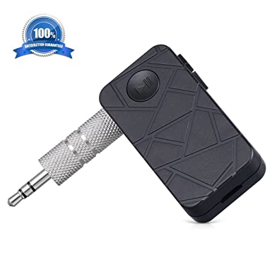 atill Multipoint conexión 4.1 de Bluetooth Audio Receptor de música A2DP Adaptador inalámbrico con puerto de