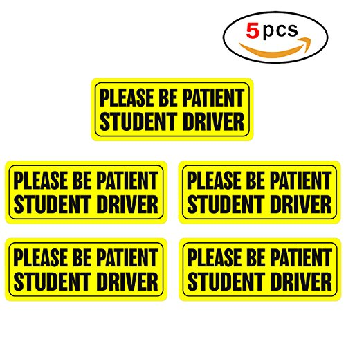 Student driver bumper stickers