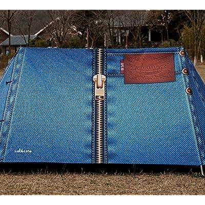 zhudj Outdoor Camping, tentes, 2–3 personnes, camping, parcs, coloré,  individuellement, créative, haut de gamme Anti tempête, Selbstfahrer Voyage  Tente, ... 76b8610f3e84