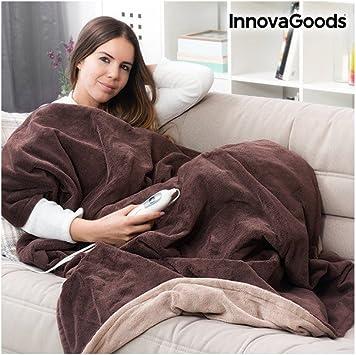 InnovaGoods IG114697 Manta Eléctrica Polar: Amazon.es: Salud y ...