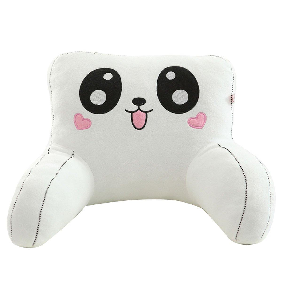 Adorable Panda Lumbar Support Backrest Pillow Waist Seat Back Cushion Pillow in Home Office School Car