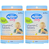 Hyland's Baby Vitamin C Tablets, 125 Tablets (Value Pack of 2)