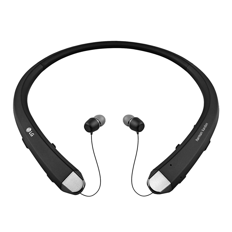 LG Tono HBS 910 Infinim Bluetooth auriculares estéreo inalámbricos con Harman Kardon sonido negro: Amazon.es: Electrónica