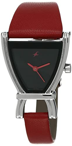7. Fastrack Fits & Forms Analog Black Dial Women's Watch