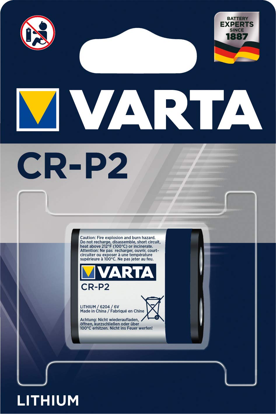Varta CR-P2 Photo Lithium Battery Replacement