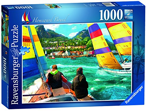 Ravensburger Homeward Bound 1000 Piece Jigsaw Puzzle for Adults – Every Piece is Unique, Softclick Technology Means Pieces Fit Together Perfectly