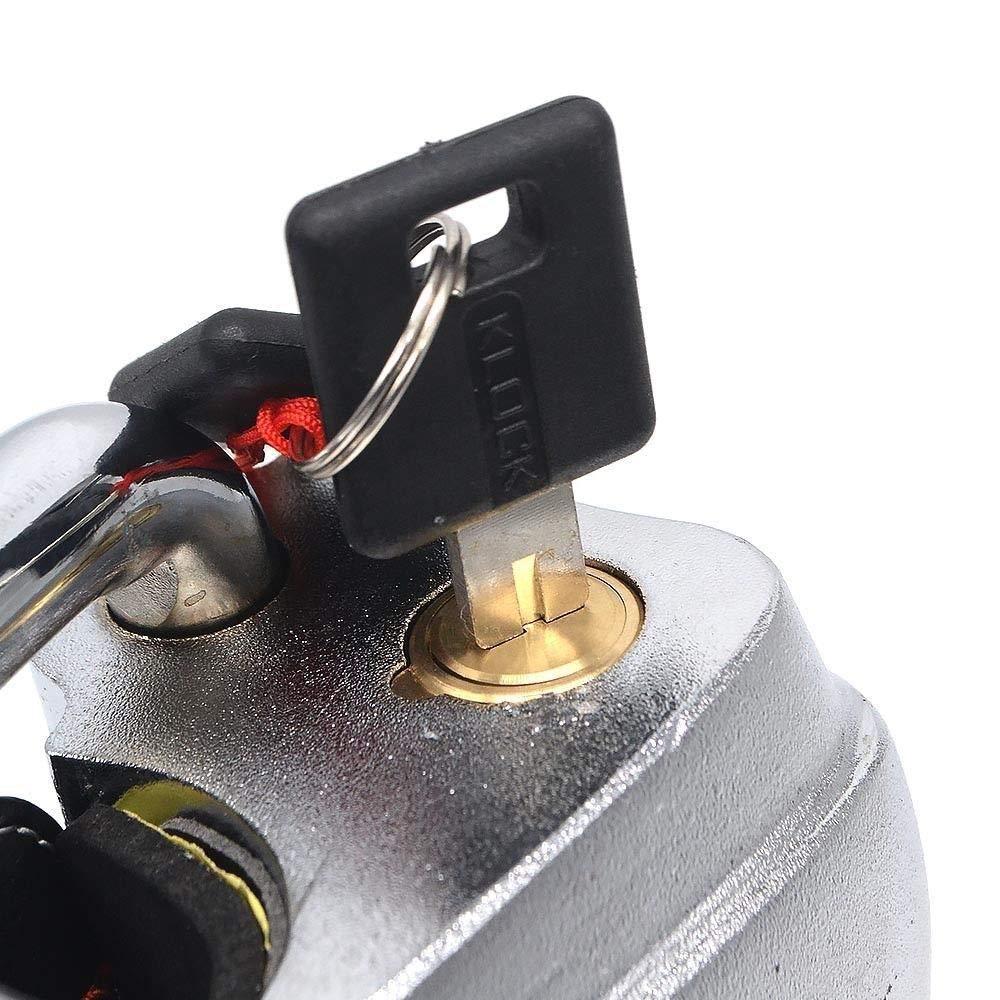 anti-theft car Steering Wheel Lock Evergd Diebstahlsicherung f/ür Auto-Lenkradschloss mit Diebstahlsicherung und 2 Schl/üsseln