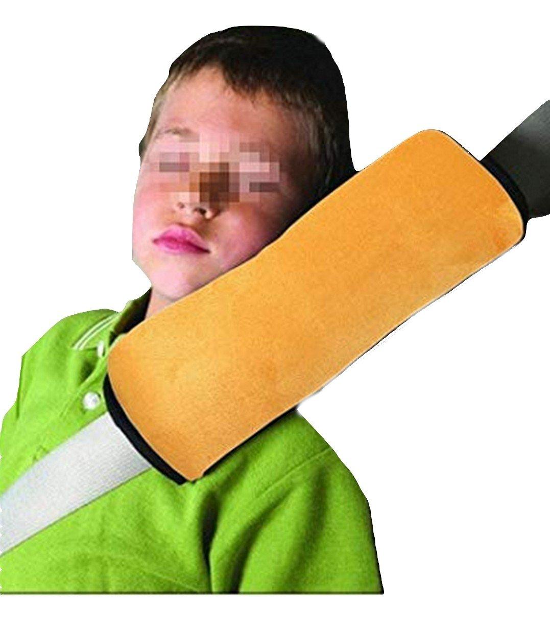 Coussin ceinture enfant sécurité soutien cou et appuie tête souple adapté même à Voyage avion bus voiture train couleur ciel PICCOLI MONELLI