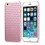 iPhone 6S Case/ iPhone 6 Case- KAYSCASE Usmed Slim Starry Hard Shell Cover Case for Apple iPhone 6S 4.7 inch 2015 Version/ iPhone 6 4.7 inch 2014 Version (Pink)