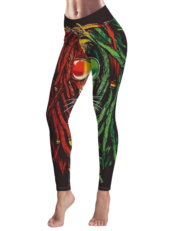 SODIKA Womens Yoga Pants Workout Leggings High Waisted ...