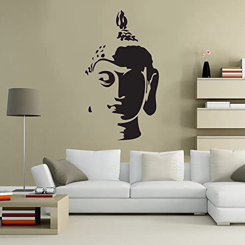 Buddha Head Statue Spiritual Decorative Lounge Living Room Hallway ...