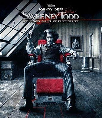 Amazoncom Sweeney Todd Blu Ray Johnny Depp Helena
