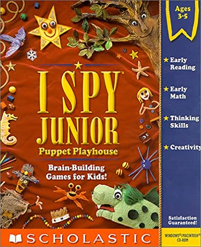 I Spy Junior Puppet Playhouse (Jewel Case) (Junior Scholastic)