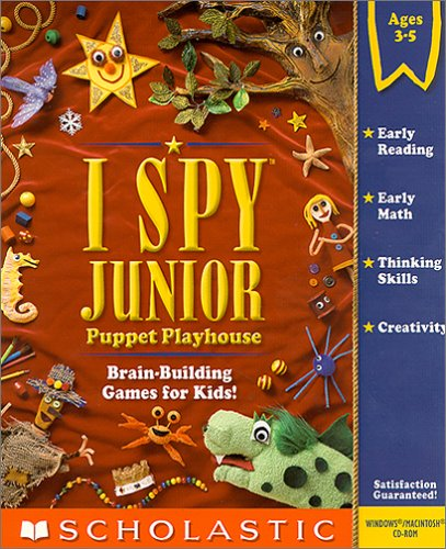 I Spy Junior:  Puppet Playhouse - PC/Mac