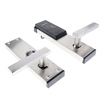 Homyl Keyless Access Door Lock Security Key Card Entry Door Lock