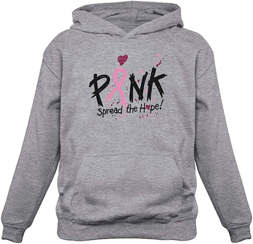 Breast Cancer Awareness Shirt Support Pink Ribbon Fight Gift Zip Hoodie