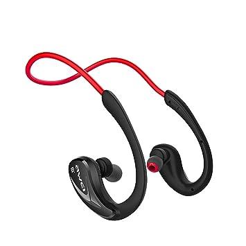 DMMASH Auriculares Deportivos Bluetooth Headset 4.0 con Auriculares Inalámbricos,Red: Amazon.es: Electrónica