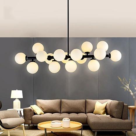 Idee Lampadari Sala Da Pranzo.Lampadario Illuminazione G4 16 Sala Da Pranzo In Vetro