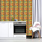 Flower Power Extreme Patterned Wallpaper by CustomWallpaper.com