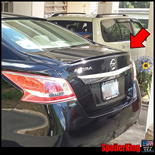 Nissan Altima 4dr 2013-on Rear Trunk Lip Spoiler (244L) - Nissan Altima Rear Spoiler