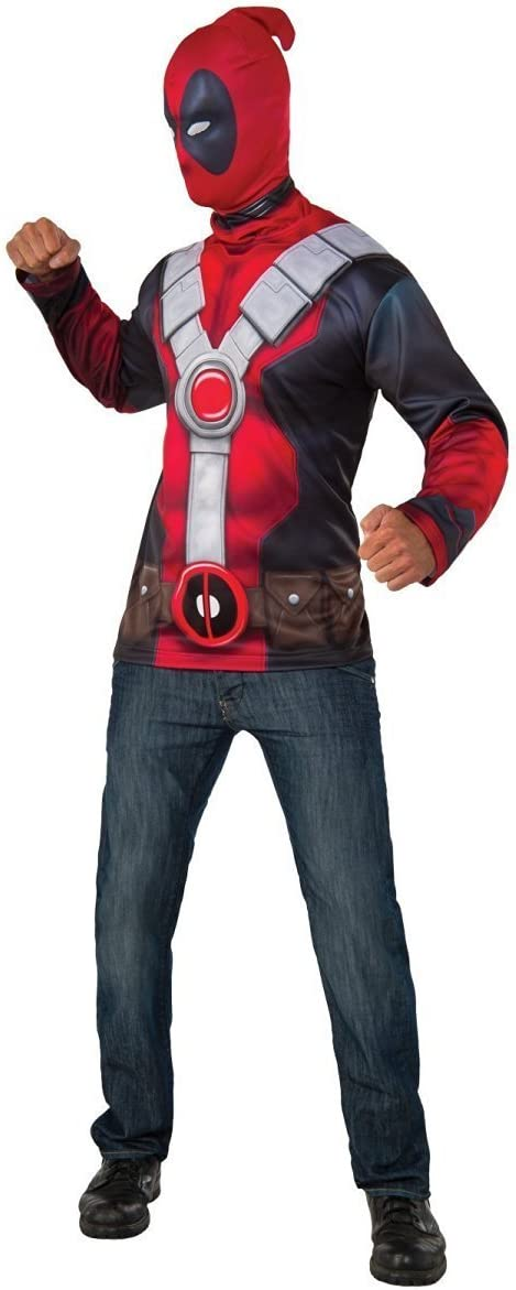 Disfraz oficial del superhéroe de Marvel Deadpool de Rubs para ...