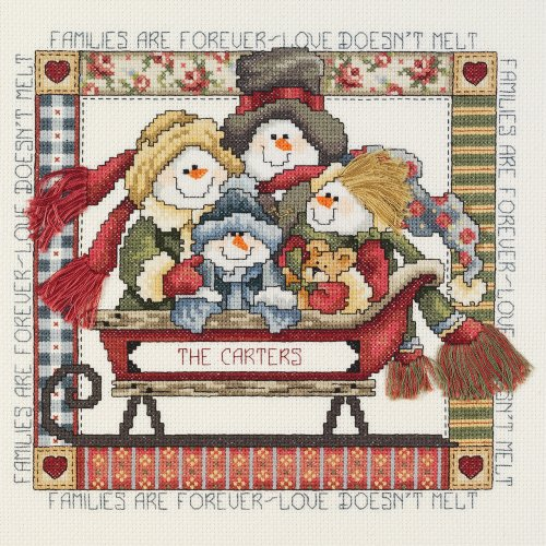 Janlynn PWA4 Families are Forever Counted Cross Stitch Kit-9