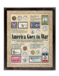 American Coin Treasures America Goes to War, 8 x 10\