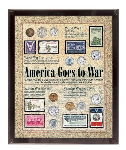 American Coin Treasures America Goes to War, 8 x 10