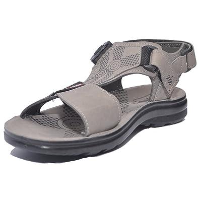 c6fd56987 VKC Pride Men's Grey Sandals (2526) 10 UK: Buy Online at Low Prices ...