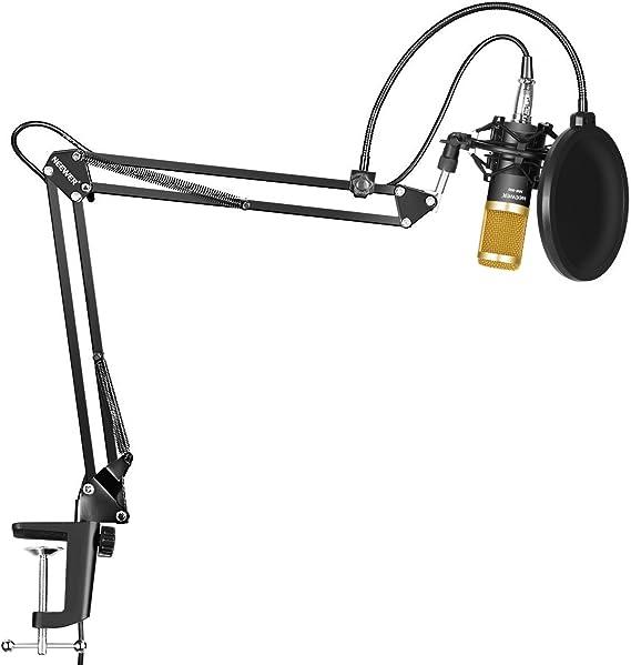 Neewer NW-800 Micrófono Condensador Profesional Estudio y NW-35 ...