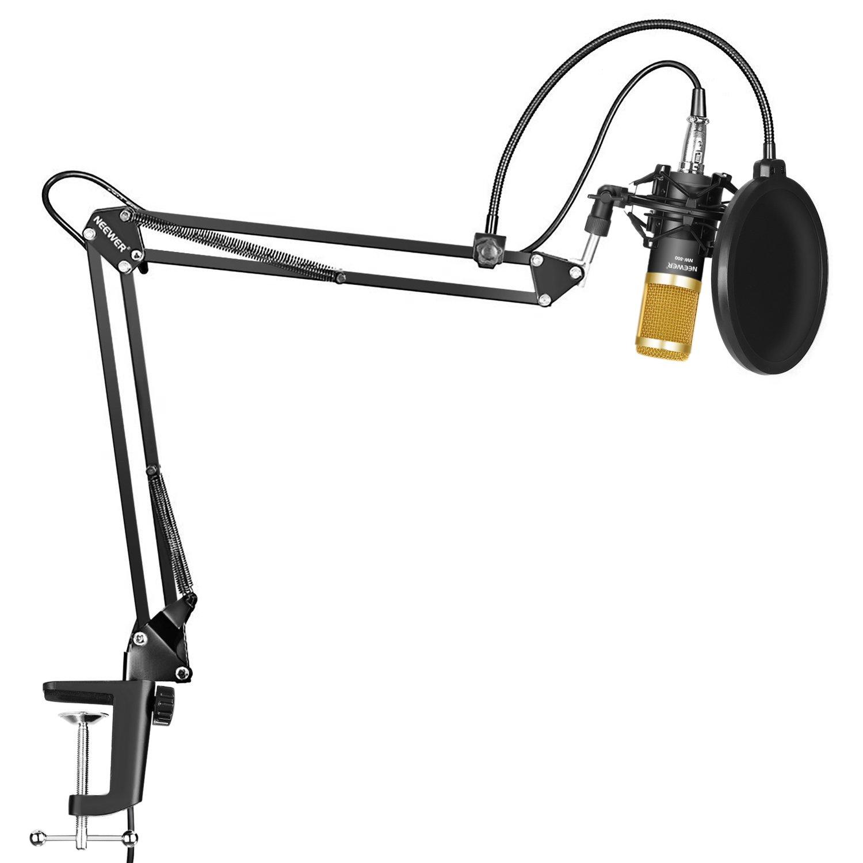 Neewer® NW Profesional Estudio Difusión Grabación Micrófono Condensador y NW Micrófono Grabación